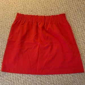 NWOT J. Crew sidewalk skirt sz 10